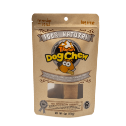 X-LARGE (Grey bag 6.0oz) For Most Dogs Under 70 lbs, 1 chew per bag