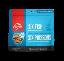 Six Fish Cat Treats