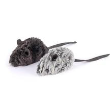 Feline Frenzy Plush Catnip - Catch A Meowse Toy - Mice 2 Pk