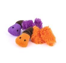 Feline Frenzy Plush Catnip - Wiggly Wormies Toy - Worm 2Pk