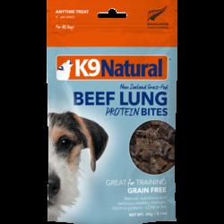 Beef Lung Protein Dog Bites 60g