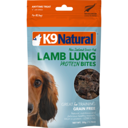Lamb Lung Protein Dog Bites 50g