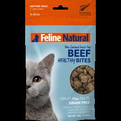 Healthy Natural Beef Cat Bites 50g