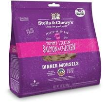Yummy Lickin' Salmon & Chicken Dinner