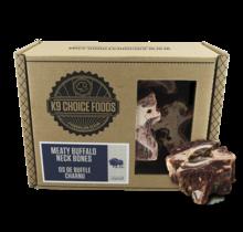 Buffalo Neck Bones 3lb Box