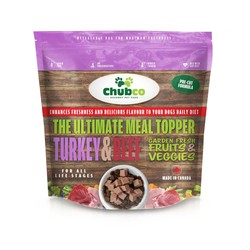 The ultimate meal topper - Turkey & Beef 2.2lb bag