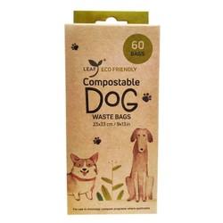 Eco Friendly Compostable Poop Bag - 60 Count - 4 Rolls
