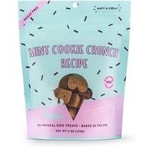 Biscuit croustillant à la menthe doux et moelleux - 6oz