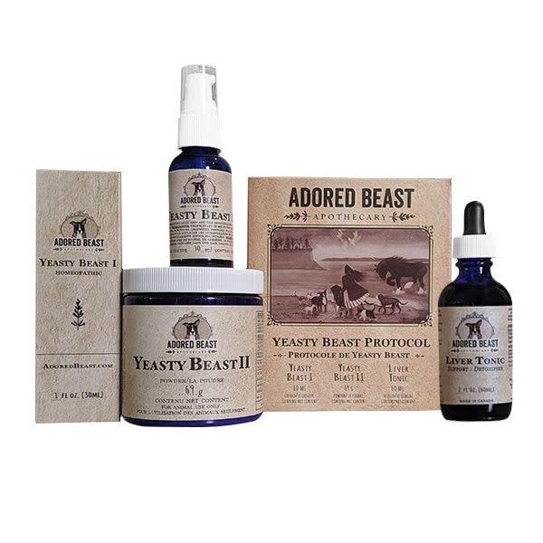 Protocole Yeasty Beast - Kit de 3 produits