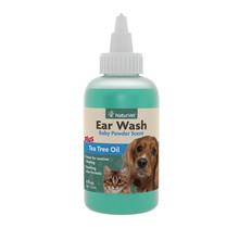 Ear Wash w/Tea Tree oil 4oz