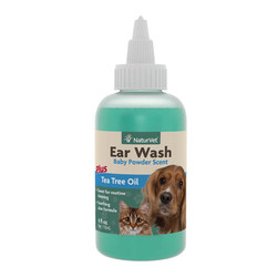 Ear Wash w/Tea Tree oil 4oz