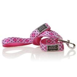 Toto leash - Pink & Black stars