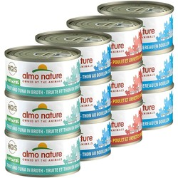 Hqs Variety Pack Tuna/Chicken/Mackerel/Shrimp/Trout - 2 Packs Of 12X70Gr
