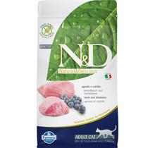 N&D Prime Grain Free Cat Lamb & Blueberry