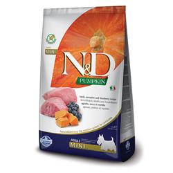 N&D Pumpkin Grain Free Dog Lamb & Blueberry Mini
