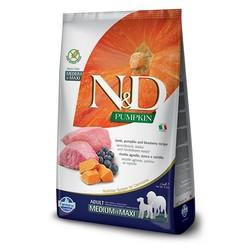 N&D Pumpkin Grain Free Dog Lamb & Blueberry Medium/Maxi
