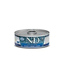 N&D Ocean Cat Food Canned Sea Bass, Sardine & Shrimp