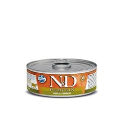 N&D Pumpkin Cat Food Canned Duck