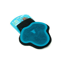 Silicone Grooming Glove - Blue