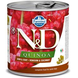 N&D Quinoa Skin & Coat - Venison & Coconut 10oz