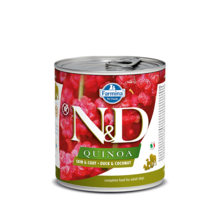 N&D Quinoa Skin & Coat - Duck & Coconut 6x10oz