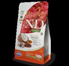 N&D Quinoa Grain Free Cat Skin & Coat Herring 3.3lb