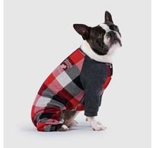 Frosty Fleece Sweatsuit - Plaid
