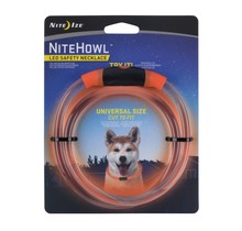 NiteHowl LED Safety Necklace Orange
