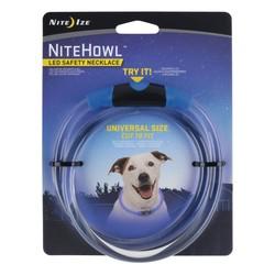 NiteHowl LED Safety Necklace Blue