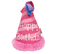 Plush Crinkle Birthday Hat