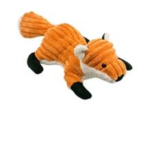 "Plush Fox Squeaker Toy - 12"""