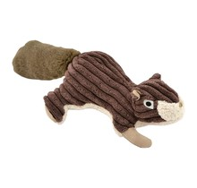Plush Squirrel Squeaker Toy - 12""