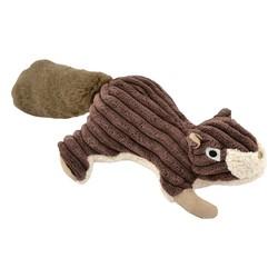 """Plush Squirrel Squeaker Toy - 12"""""""