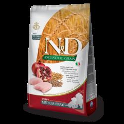 N&D Ancestral Low Grain Puppy Chicken & Pomegranate Medium/Maxi