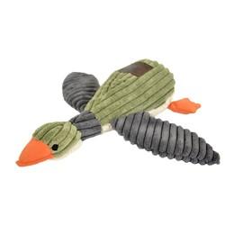 "Plush Duck Squeaker Toy - 12"""