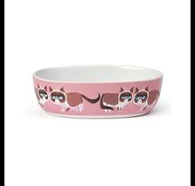 "Grumpy cat Mildly amused 7"" 2 cups Pink"