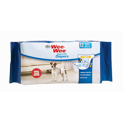Wee-wee Disposable Diapers 12pk