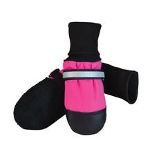 Fleece-Lined Boots Pink