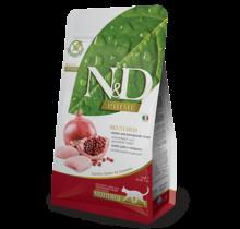 N&D Grain Free Neutered Cat Chicken & Pomegranate 3.3lb
