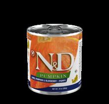 N&D Pumpkin Puppy Lamb & Blueberry 10oz