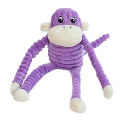 Spencer the Crinkle Monkey- Small Purple