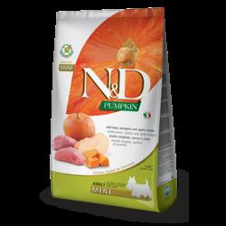 N&D Pumpkin Grain Free Dog Boar & Apple Mini