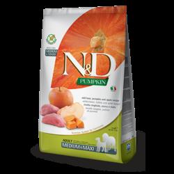 N&D Pumpkin Grain Free Dog Boar & Apple Med/Max