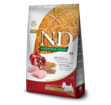N&D Ancestral Low Grain Dog Chicken & Pomegranate Mini
