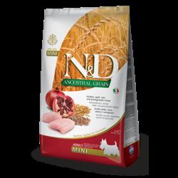 N&D Ancestral Low Grain Dog Chicken & Pomegranate Mini