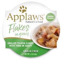 Cat Pot Tilapia Flakes with Tuna in Gravy 60g