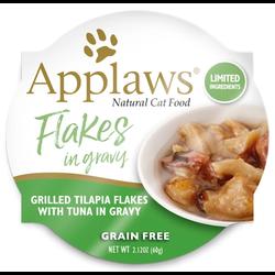 Cat Pot Tilapia Flakes with Tuna in Gravy 60g