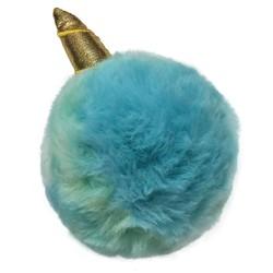Fuzzy Unicorn Spikers Blue