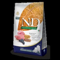 N&D Ancestral Low Grain Puppy Lamb & Blueberry Medium/Maxi