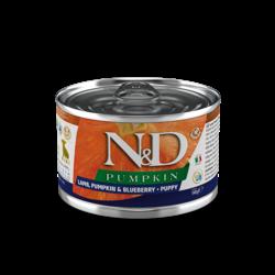 N&D Pumpkin Puppy Food Canned Lamb & Blueberry Mini